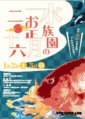 画像:生徒さん制作物/水族館ポスター